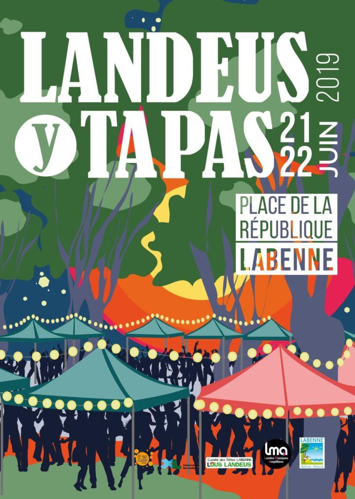 Landeus Y Tapas : les Casetas de Labenne