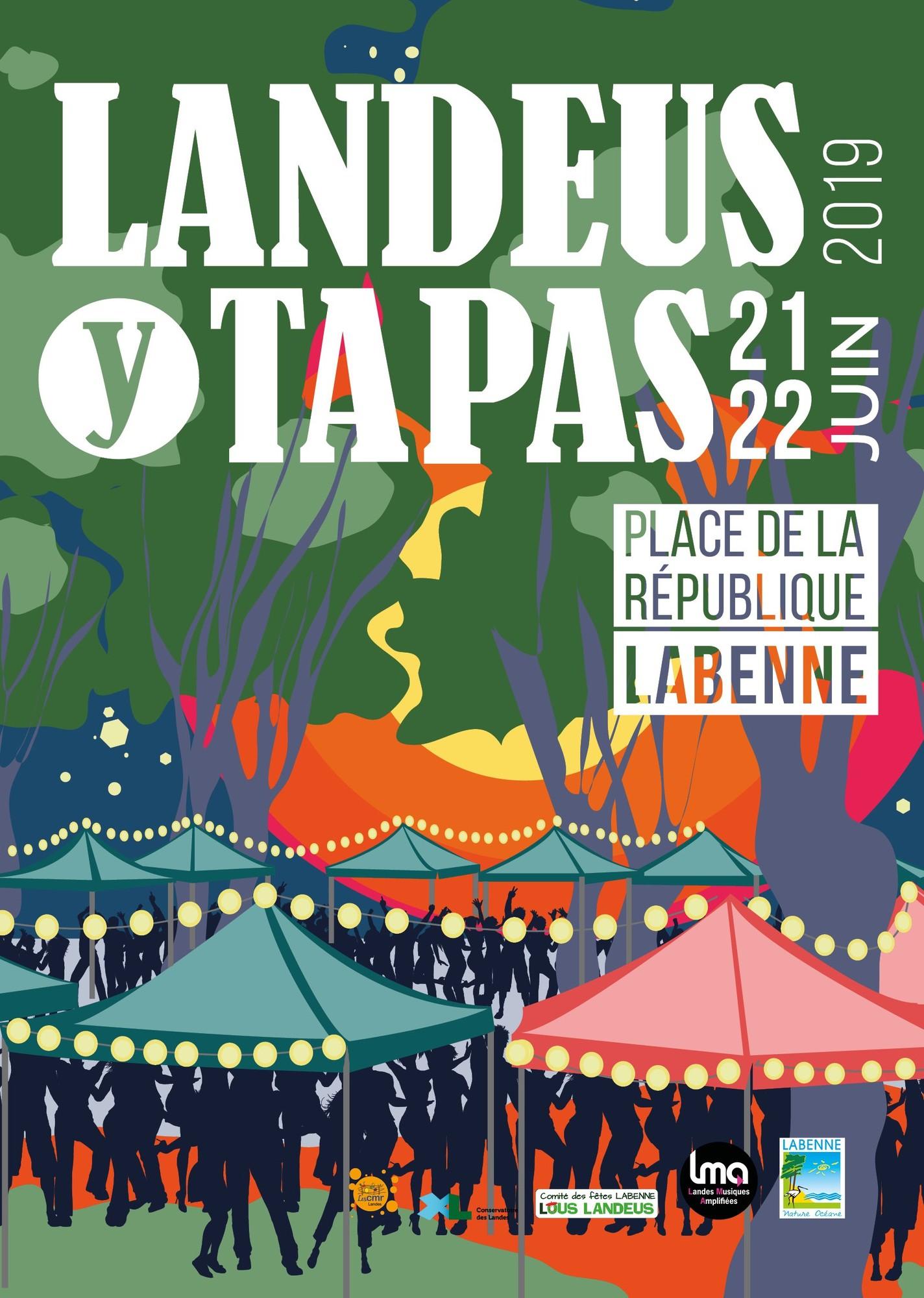 Casetas Labenne- Landeus y tapas 2019