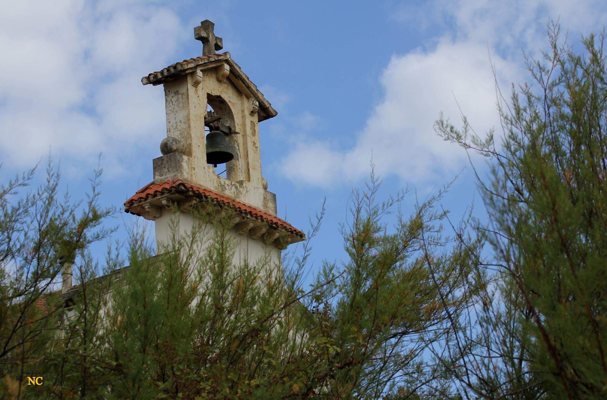 Clocher de la chapelle Sainte Thérèse de Labenne