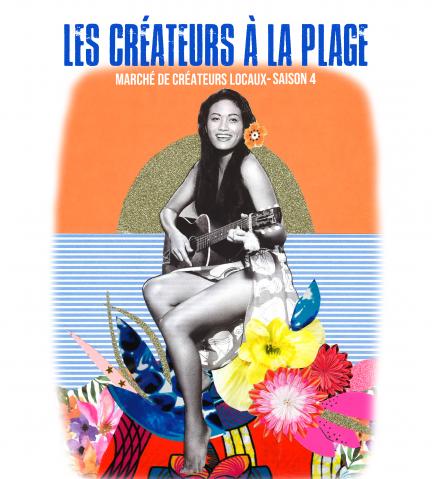 Marché «Les créateurs à la plage»