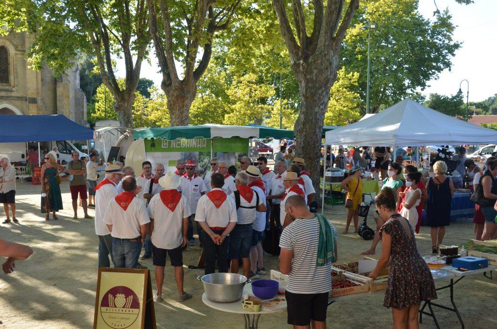 Marché des producteurs à Labenne Bourg