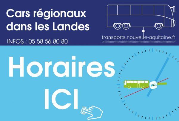 Réseau de cars régionaux : Info circulation Ligne 7
