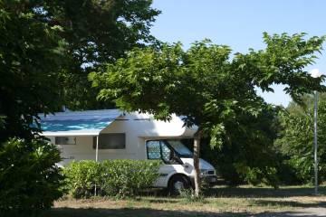 Aire de camping-car des PINS BLEUS