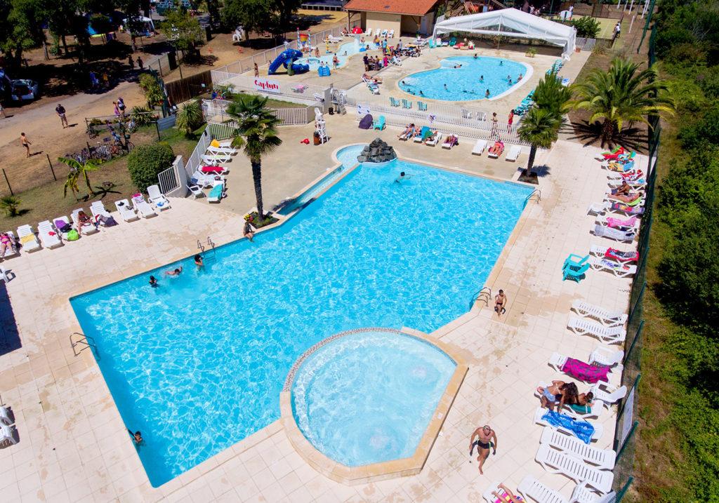 Camping LaMer_Labenne_Landes Atlantique Sud Aerien-piscine