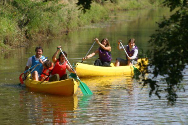 Base nautique : Paddle et canoë