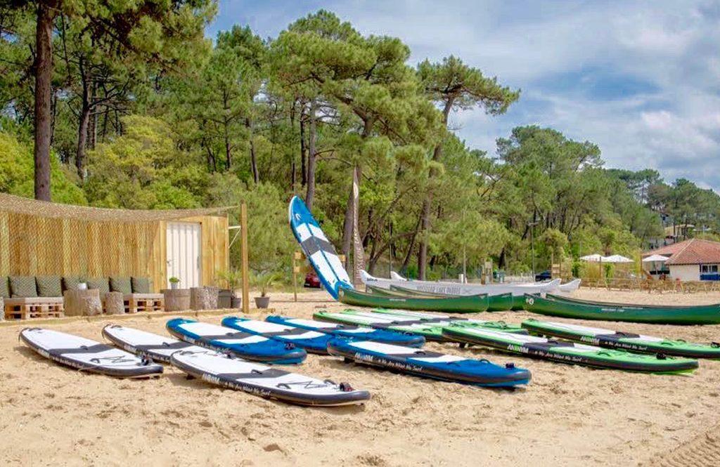 Hossegor-lake-paddle-sur-la-plage