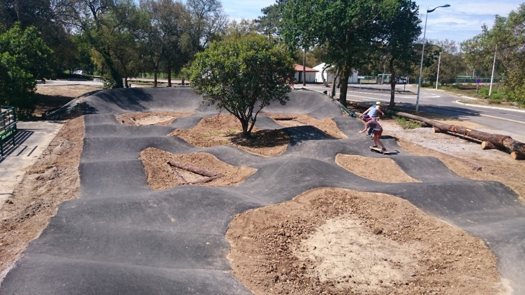 Pumptrack de Labenne océan